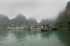 Halong海湾 免版税库存照片
