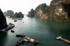 Halong海湾 免版税图库摄影