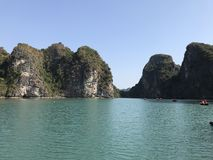 halong Вьетнам залива Стоковая Фотография RF