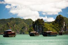 Halong Bay stock image