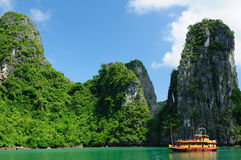 Halong Bay. Vietnam - Halong Bay National Park (UNESCO). The most popular place in Vietnam Stock Image