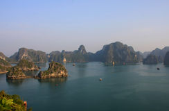 Halong Bay. The landscape of Halong Bay - Vietnam