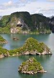 Halong bay area  in  Vietnam Asia Stock Photos