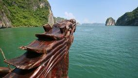 Halong Bay boat Stock Photography