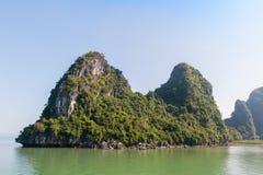 Halong bay island Stock Photos