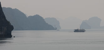 Halong Bay, Northern Vietnam Royalty Free Stock Photography