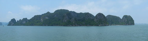 Halong Bay, Panorama Royalty Free Stock Photography