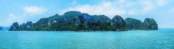 Halong Bay, Panorama Stock Photography