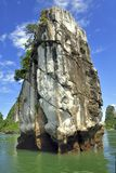 Halong Bay, Rock Formations Royalty Free Stock Photography