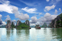 Halong Bay Scene Stock Image