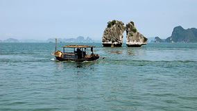 Halong bay scenery Stock Image