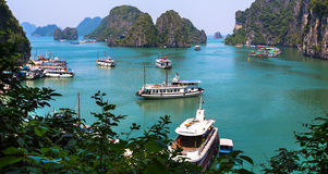 Halong Bay sea scenery in Guilin Stock Photo