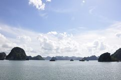 Halong Bay Sea View Royalty Free Stock Photo