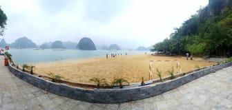 Halong Bay. Ti Top Island on Halong bay Royalty Free Stock Image