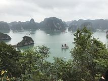 Halong Bay Titop island  Stock Photo