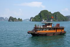 Halong bay Vietnam Royalty Free Stock Images