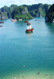 Halong Bay Vietnam Stock Photography