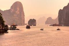 Halong Bay, Vietnam. Royalty Free Stock Images