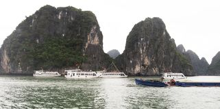 Halong Bay, Vietnam. Royalty Free Stock Photo