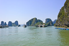 Halong bay, Vietnam Royalty Free Stock Photo