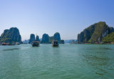 Halong bay, Vietnam Royalty Free Stock Photos
