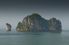 Halong bay,Vietnam Royalty Free Stock Photos