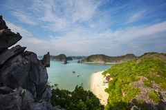 Halong. Bay,Vietnam stock photography