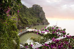 Halong Bay in Vietnam. Stock Photography