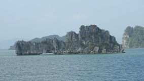 Halong Bay in Vietnam stock photos