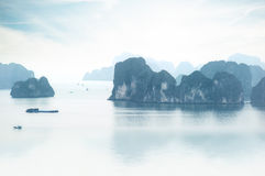 Halong Bay Vietnam. Ha Long Bay view Royalty Free Stock Images