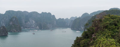 Halong Bay Vietnam. Ha Long Bay view Royalty Free Stock Photos