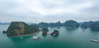 Halong Bay Vietnam Stock Image