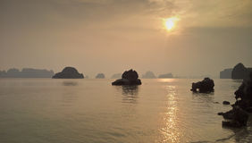 Halong bay,Vietnam Royalty Free Stock Images
