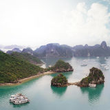 Halong Bay Vietnam Royalty Free Stock Image