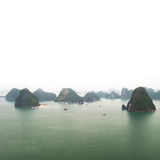 Halong bay Vietnam panoramic view Stock Photo
