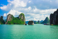 Halong Bay, Vietnam Royalty Free Stock Images