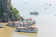 Halong bay, Vietnam Stock Photography