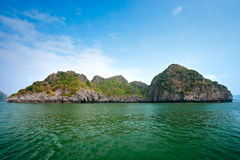 Halong Bay, Vietnam. Unesco World Heritage Site. Royalty Free Stock Photography