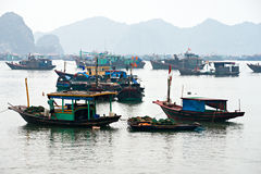 Halong Bay, Vietnam. Unesco World Heritage Site. Stock Images
