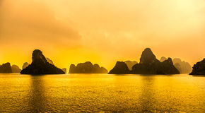 Halong Bay, Vietnam. Unesco World Heritage Site. Royalty Free Stock Image