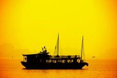 Halong bay in Vietnam Stock Photo