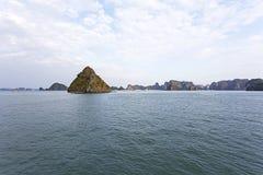 Halong Bay, Vietnam is Unesco World Heritage Site Stock Image