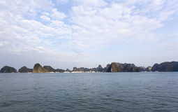 Halong Bay, Vietnam is Unesco World Heritage Site Stock Photos