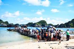 Halong Bay, Vietnam. Unesco World Heritage Site. Most popular place in Vietnam Stock Photo