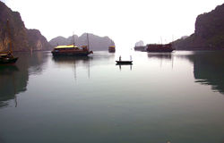 Halong Bay Vietnan Stock Photo