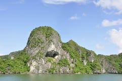 Halong Bay View. View of Hill at Halong Bay stock images