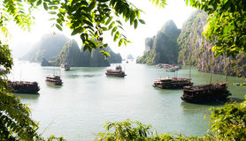 Halong Bay View Royalty Free Stock Photo