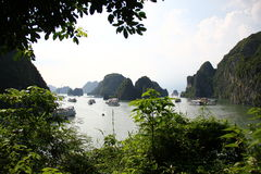 HaLong Bay view Royalty Free Stock Images