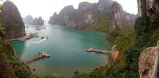Halong Bay. View of halong bay from bo hon island Royalty Free Stock Image