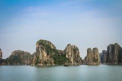 Halong-Bucht, Vietnam Stockfotos